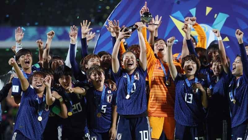 【U20WWC】ヤングなでしこ強し!日本がスペインに快勝、U-20女子W杯初優勝を飾る