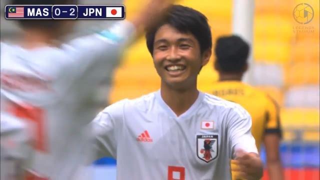 開催国マレーシアを完封、U-16日本代表はグループ1位でアジア8強進出