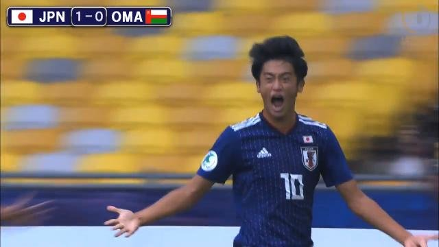 苦しみながらもオマーンを退けたU-16日本代表、来年のU-17W杯出場権を獲得