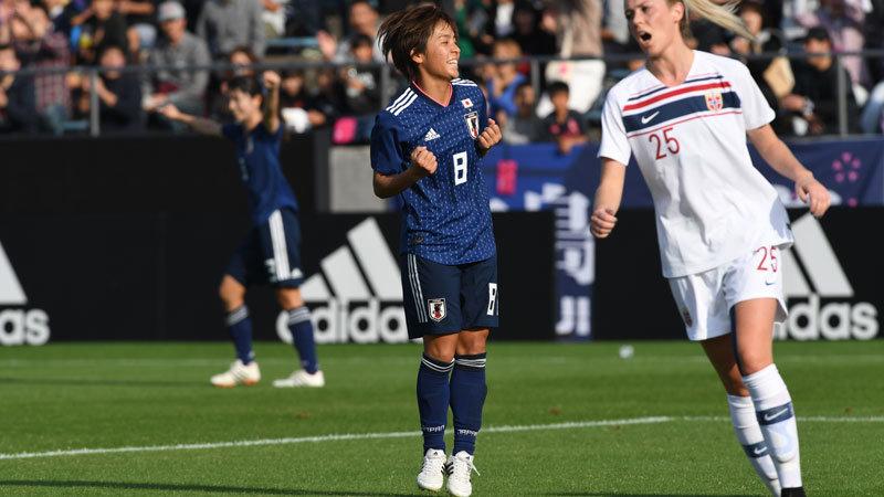なでしこジャパンが強豪ノルウェーに4-1快勝!ベテランと若手の融合も順調