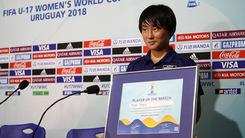 【U-17WWC】MF 森田美紗希「もっと仕掛ければ良かったとかゴールを狙って相手を脅かせればとか、結構後悔している部分はあります。」