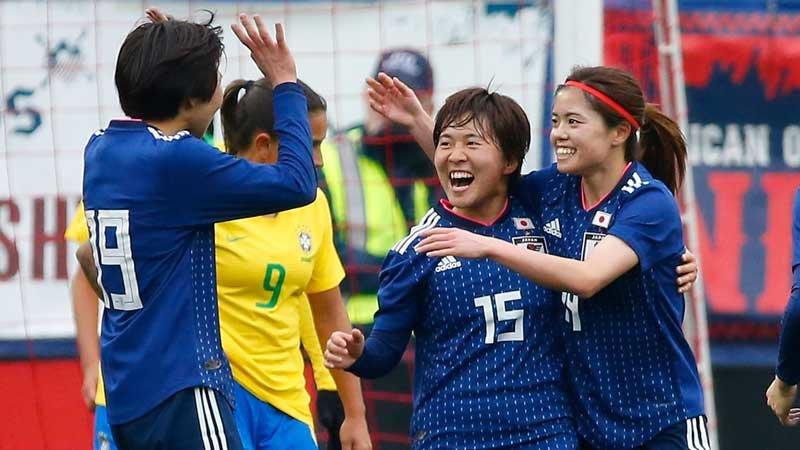 籾木が1G2Aの活躍!若手が躍動したなでしこジャパンが王国ブラジルから勝利