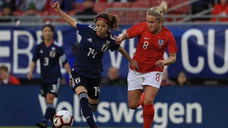 若手中心のなでしこジャパン、0-3でイングランドに完敗。連係面が課題に