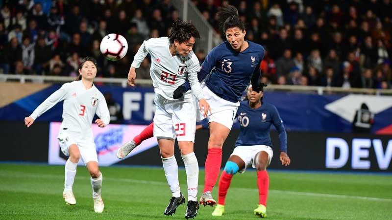 なでしこジャパンが開催国フランスに向け1−3完敗。6月W杯本番に課題残す