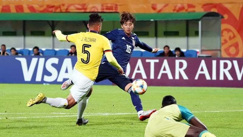 U-20W杯初戦、南米王者エクアドルに先制されるも粘り強く戦ったU-20日本代表が勝ち点1をゲット