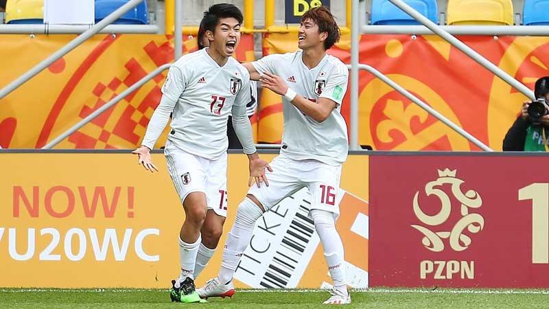 強豪メキシコに3−0快勝!U-20日本代表が決勝T進出に向けて大きく前進