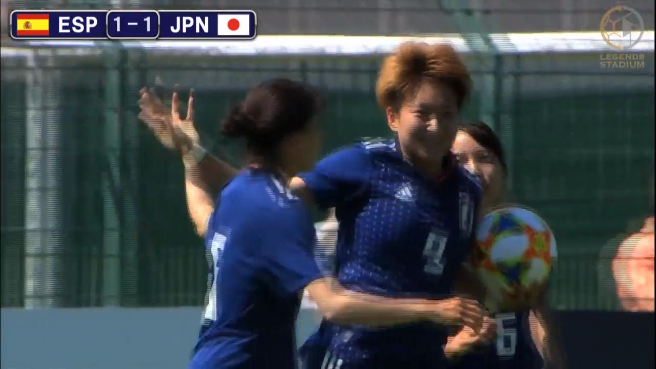 なでしこジャパンが菅澤優衣香の一撃で強豪スペインと引き分けるも内容に課題残す