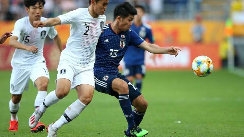 U-20日本代表、再三のチャンスを活かせないままミスから失点し韓国に敗戦。ベスト8に進めず