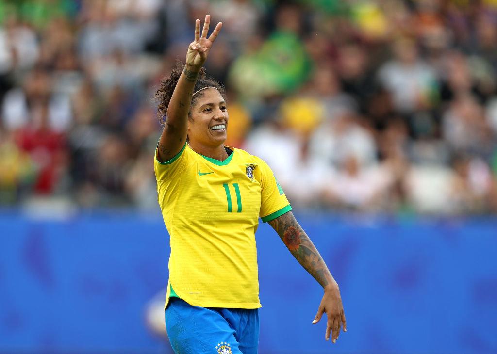 ブラジル、FWクリスチアーニが3ゴール!初出場ジャマイカに快勝【FIFA女子ワールドカップ - グループC第1節 ハイライト動画】