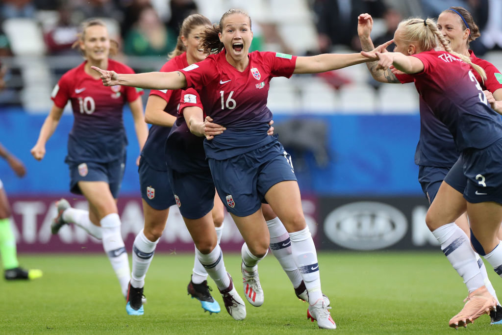 ノルウェー、ナイジェリアに3発快勝で好スタート【FIFA女子ワールドカップ - グループA 第1節 ハイライト動画】