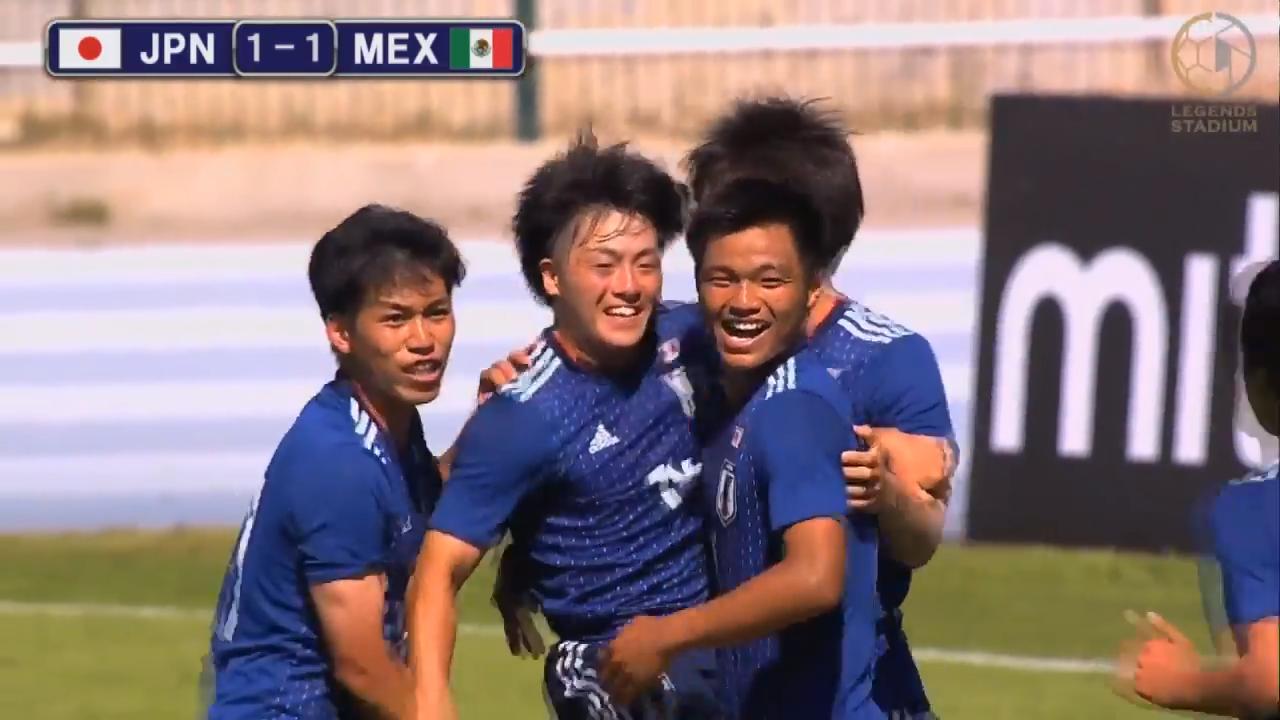 U-22日本代表、北中米の雄・メキシコに2度勝ち越されるも追いつきPK戦勝利!初の決勝へ