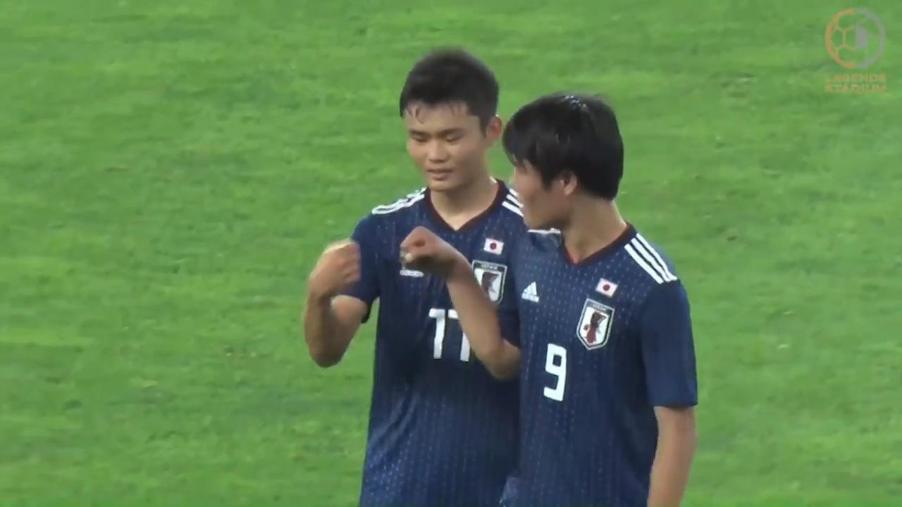 U-16日本代表、若手の登竜門的大会で4得点!ナイジェリアに快勝