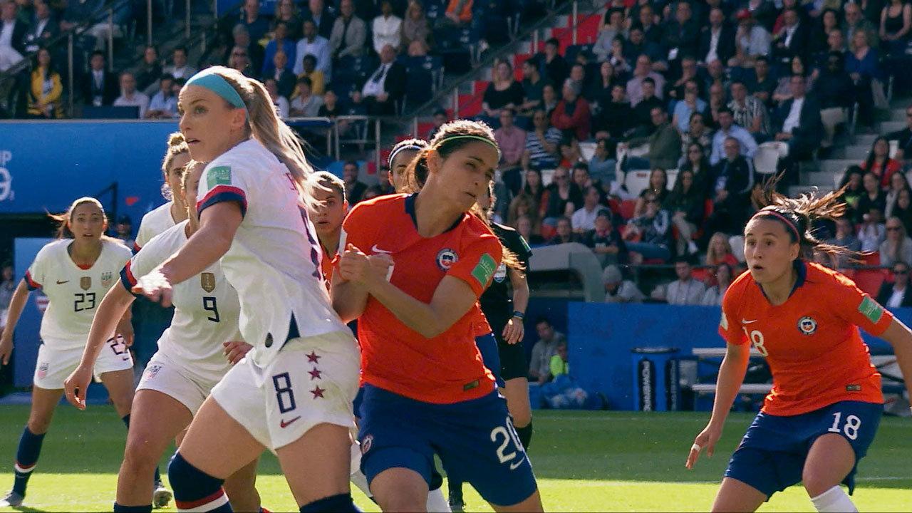 大会連覇を狙うアメリカはチリを3-0で下し2連勝!決勝T進出【FIFA 女子ワールドカップ - グループF第2節 ハイライト動画】