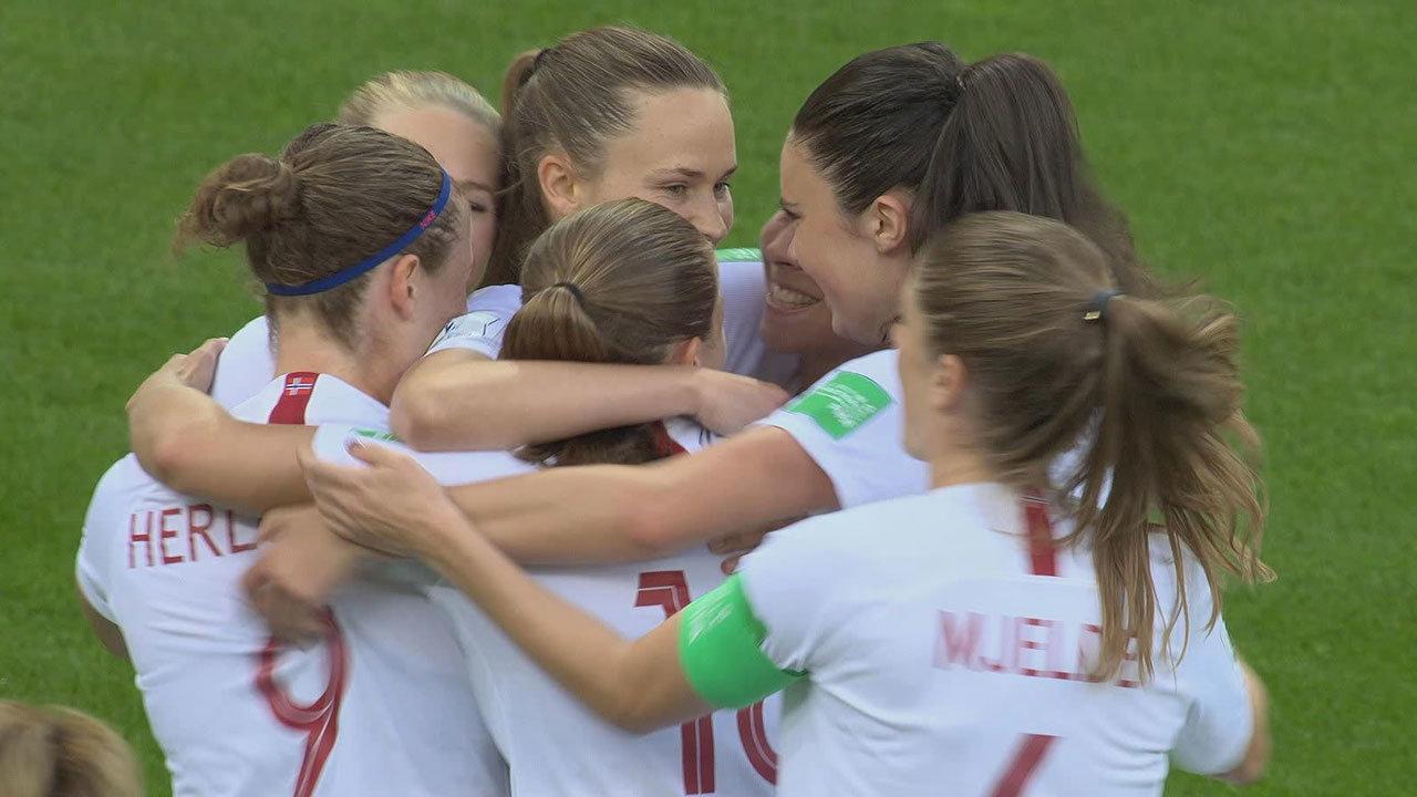 ノルウェーが2-1で韓国に競り勝ち、GL2位通過!韓国は悔しい3連敗【FIFA 女子ワールドカップ - グループA第3節 ハイライト動画】