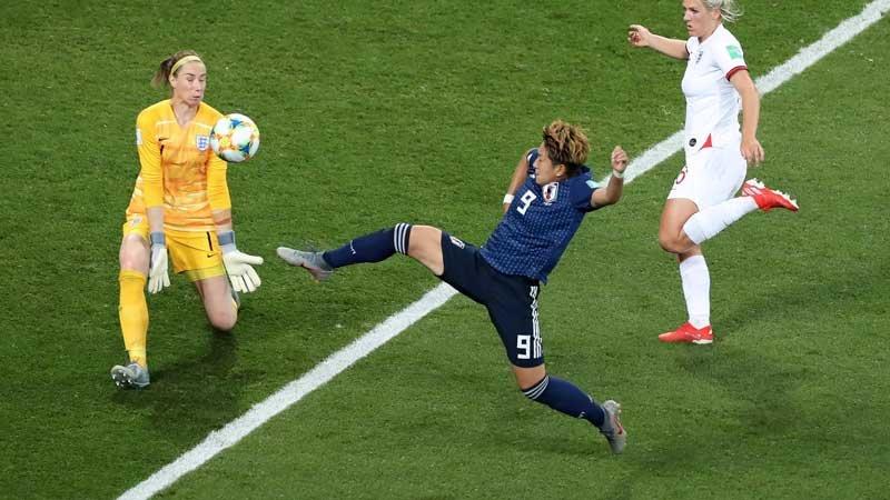 なでしこジャパンがグループD2位通過も優勝候補イングランドに敗戦