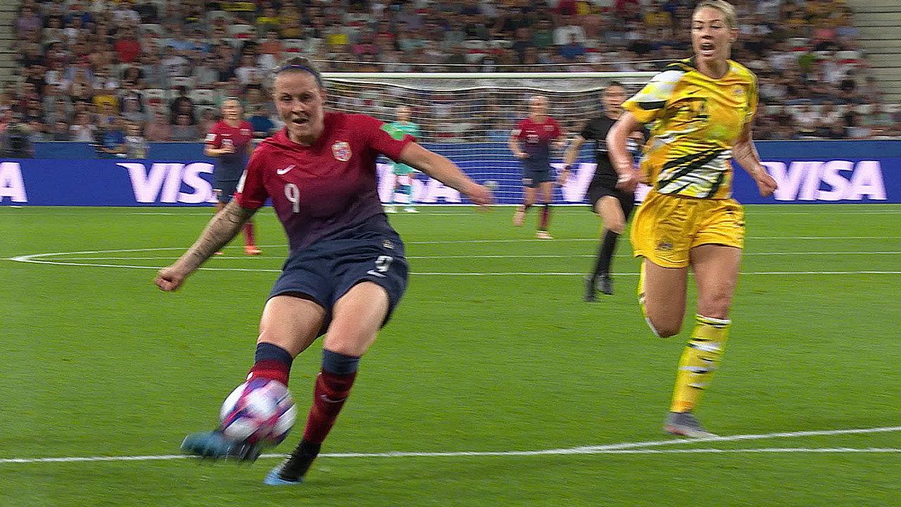 ノルウェーがPK戦の末にオーストラリアを下しベスト8へ【FIFA 女子ワールドカップ - ラウンド16 ハイライト動画】