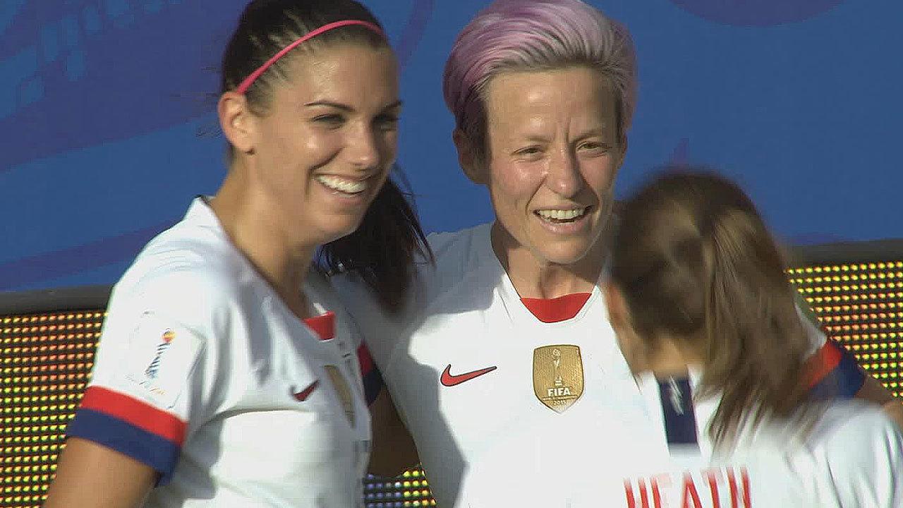 前回大会王者アメリカ、PK2発でスペインに勝利。ベスト8進出【FIFA 女子ワールドカップ - ラウンド16 ハイライト動画】