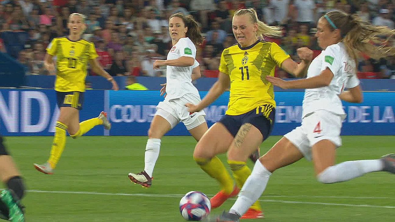 スウェーデン、1-0でカナダを下し前回大会超えのベスト8へ【FIFA 女子ワールドカップ - ラウンド16 ハイライト動画】