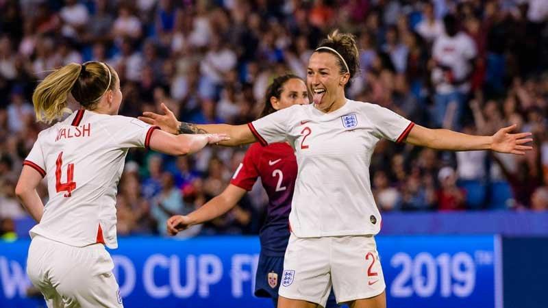 女子W杯・イングランドが3得点快勝、ノルウェーを下し4強進出