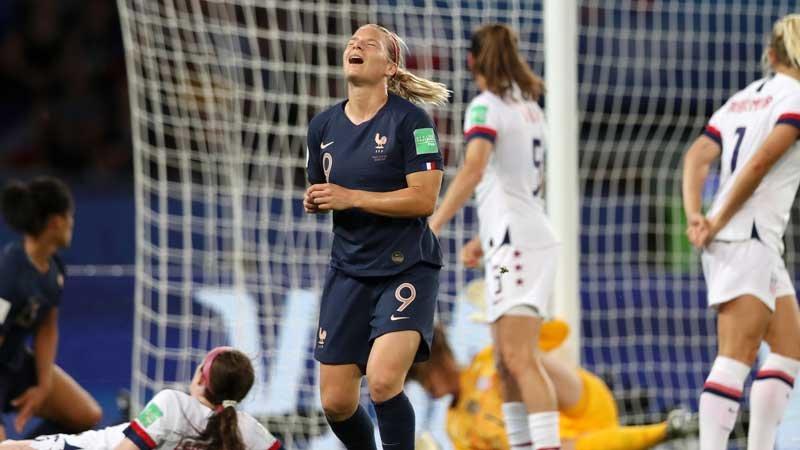 女子W杯:開催国フランス敗れる!王者アメリカが巧みな試合運びで『事実上の決勝』を制す