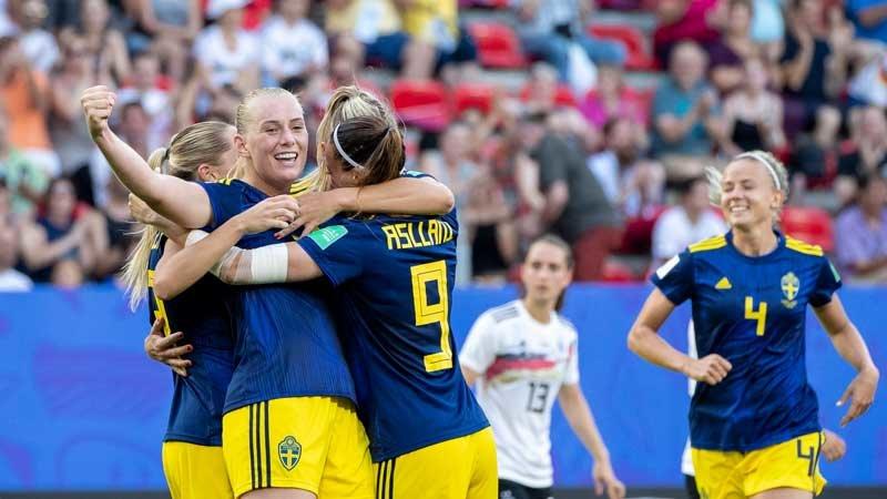 優勝候補ドイツが敗退。スウェーデンの速攻炸裂、オランダとの準決勝へ