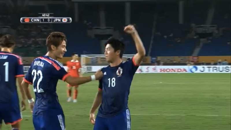 槙野、米倉、武藤が連動した見事なカウンターからの同点ゴール