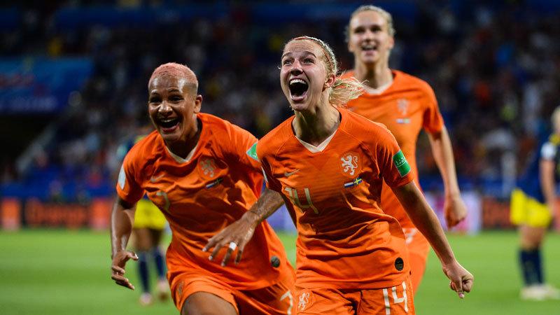 女子W杯:オランダが初の決勝進出!強豪スウェーデンに延長で競り勝ち、王者アメリカへの挑戦権を獲得