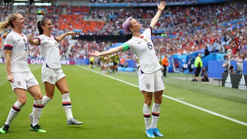 女子W杯:アメリカが連覇!欧州王者オランダを寄せ付けず4度目のワールドカップ優勝を飾る