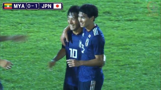 カタールW杯に向けて白星発進の森保ジャパン、ミャンマーを圧倒も2得点に留まる
