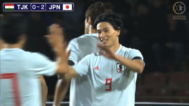 下剋上を狙うタジキスタンに手を焼くも、南野の2ゴール等で日本がW杯アジア2次予選3連勝決める