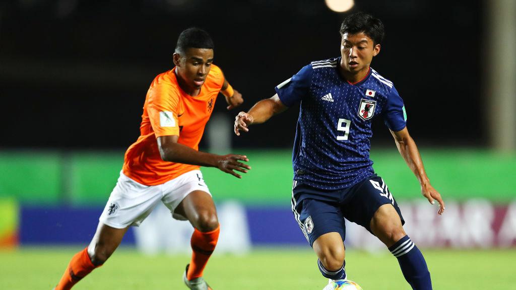 U-17日本代表が最高のスタート!若月、西川のゴールで優勝候補オランダに3-0快勝