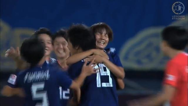 ヤングなでしこが2連勝でグループ首位、韓国の猛攻を振り切りタフなゲームを制す