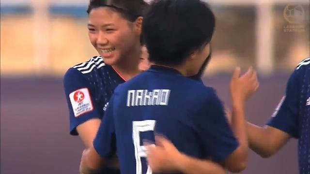 ヤングなでしこ、追いすがる中国を振り切り2−1勝利で準決勝進出決める