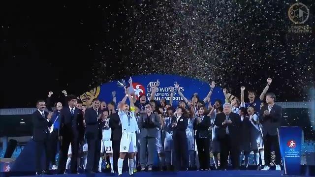 ヤングなでしこ、山本柚月、高橋はなのゴールで朝鮮民主主義人民共和国を下してアジア3連覇、6度目の優勝を飾る