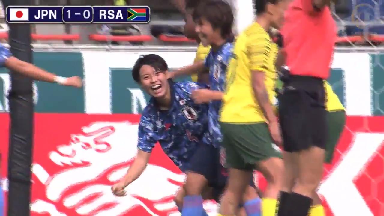 なでしこジャパンが南アに完勝、五輪に向けての強化は順調。日本代表新ユニフォームもお披露目!