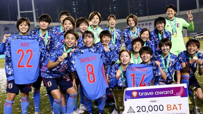 エース不在のなでしこジャパン、1−0で韓国を下し3戦全勝で優勝決める