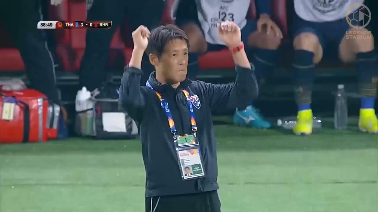 西野朗監督率いるタイがバーレーンに5発大勝!五輪切符獲得へ好スタート【AFC U23アジア選手権 2020  ハイライト動画】