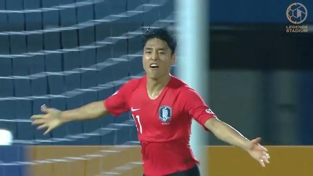 後半AT弾で韓国が中国を相手に劇的勝利!混戦が予想されるC組で首位発進【AFC U23アジア選手権 2020 ハイライト動画】