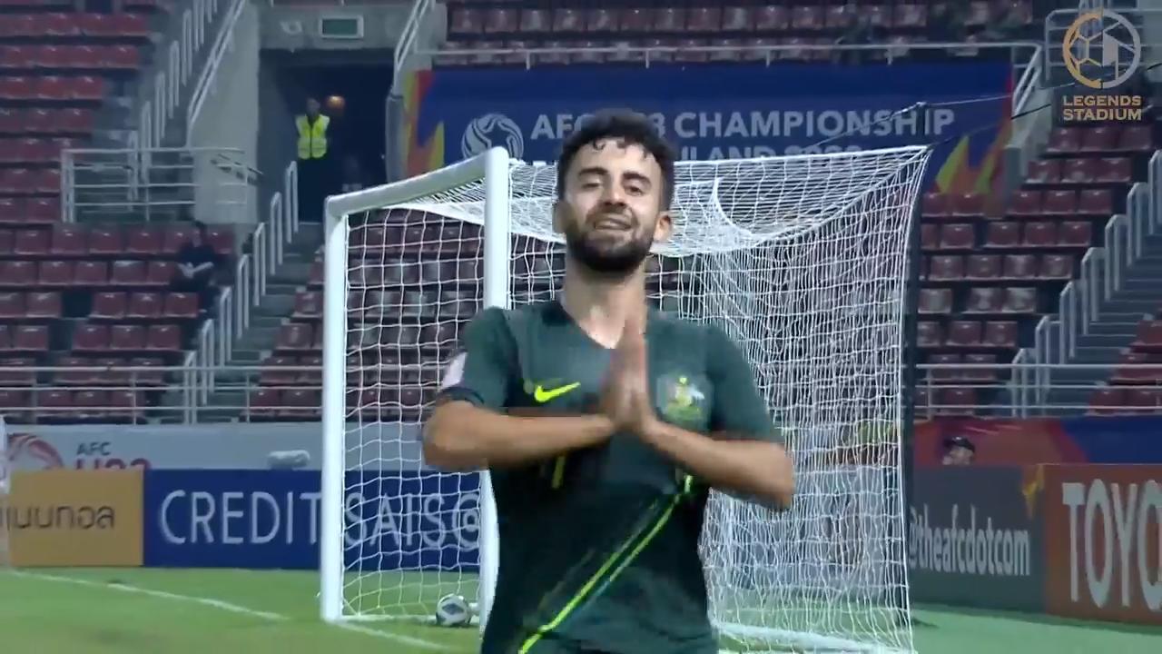 オーストラリア、バーレーンとのGL最終戦は引き分けに終わるもグループAを首位通過【AFC U23アジア選手権 2020 ハイライト動画】