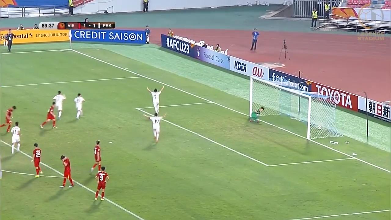 北朝鮮が後半終了間際に逆転し今大会初勝利!敗れたベトナムはGL敗退が決定【AFC U23アジア選手権 2020 ハイライト動画】