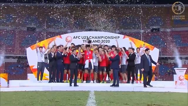 韓国がサウジアラビアとの激戦を制しU23アジアチャンピオンに輝く!【AFC U23アジア選手権 2020 ハイライト動画】