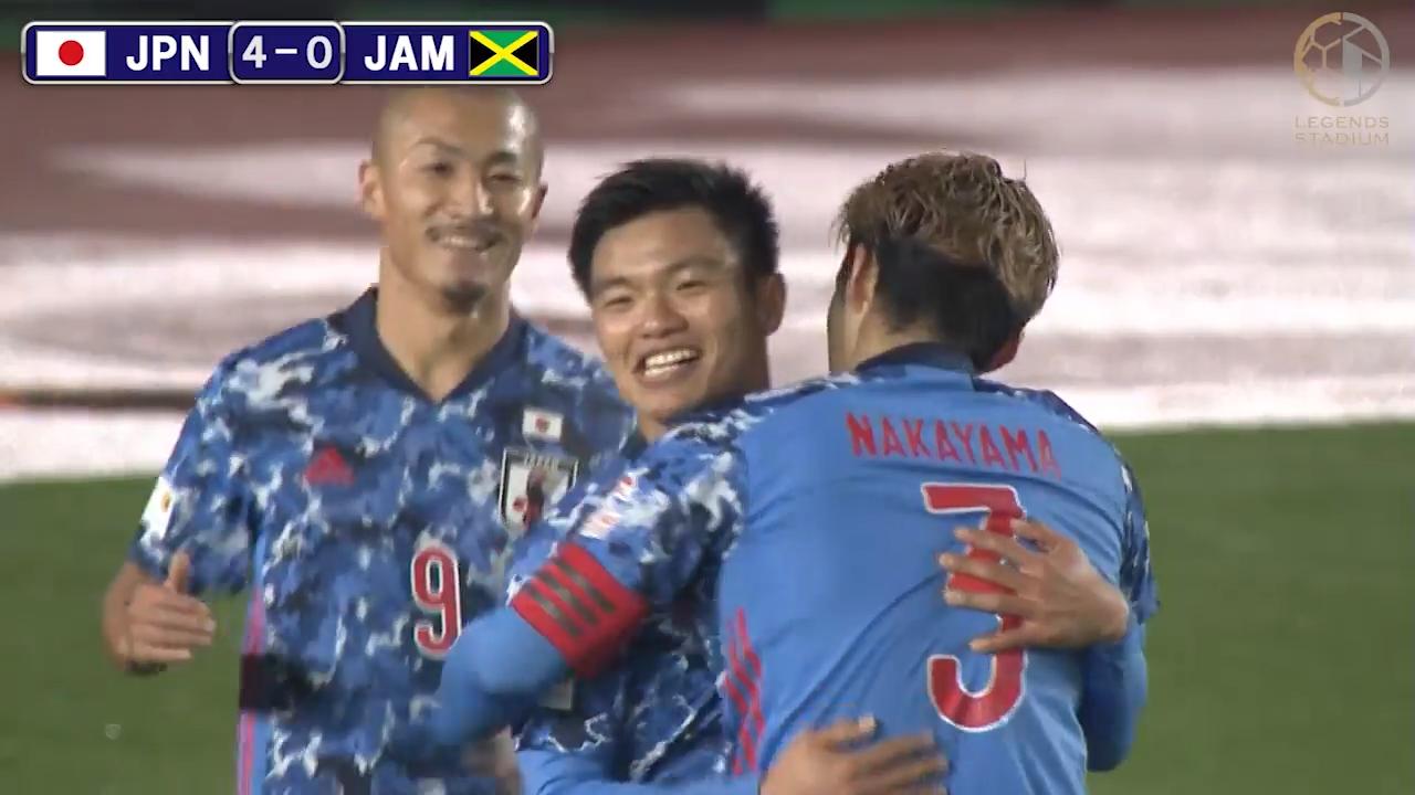 U-22日本代表、ジャマイカ相手に大量9得点、コンビネーションの熟成進む