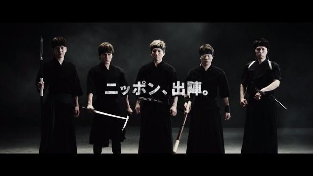 日本を代表するサッカー選手たちが武術の達人に!?