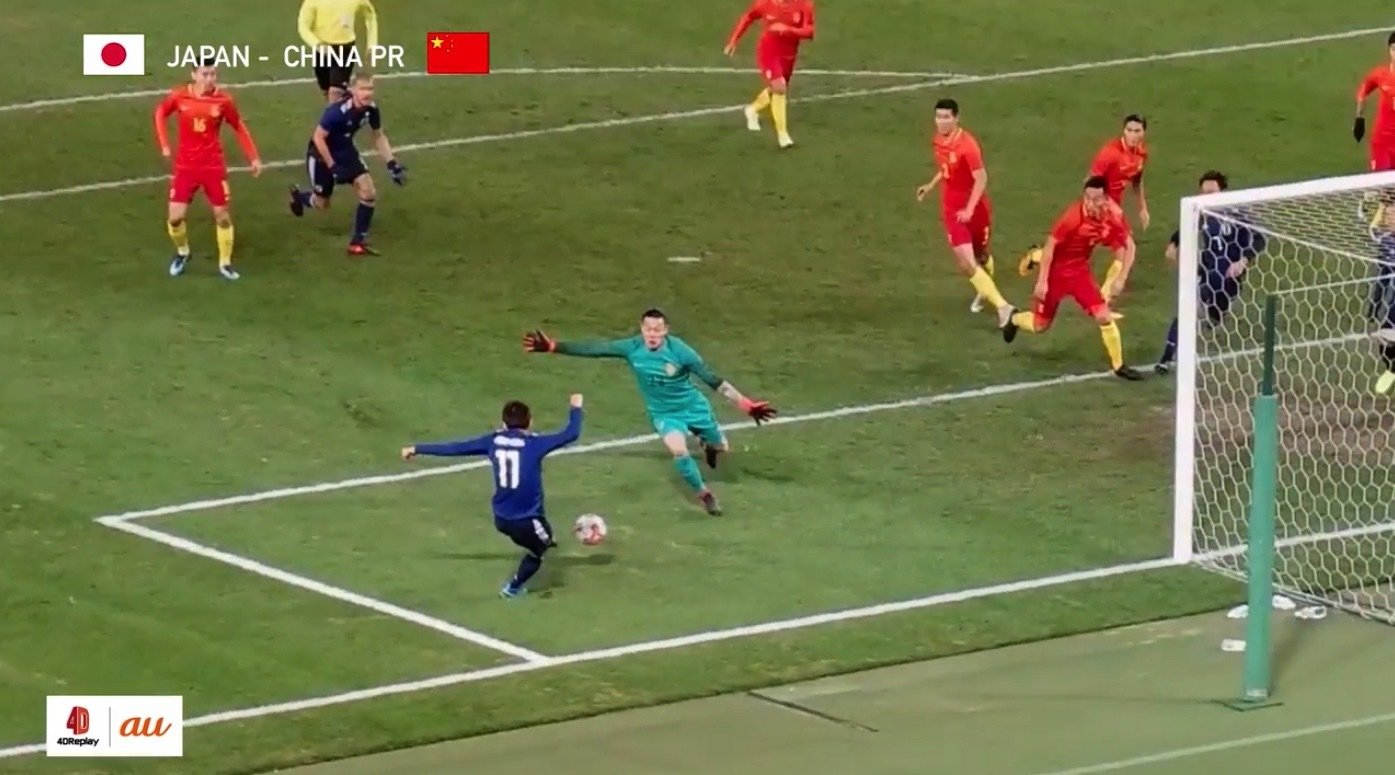 サッカーファン注目!リプレイ映像新技術
