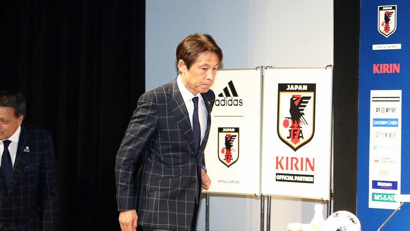 オールジャパンでリスタートに挑む日本代表。西野新監督の言葉から読み解く、現時点での見通し