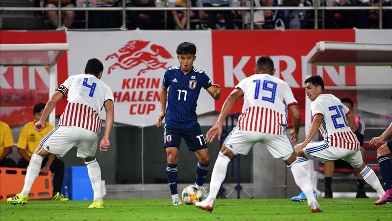 W杯二次予選に向け、パラグアイ戦で実力をアピールした橋本、植田、久保