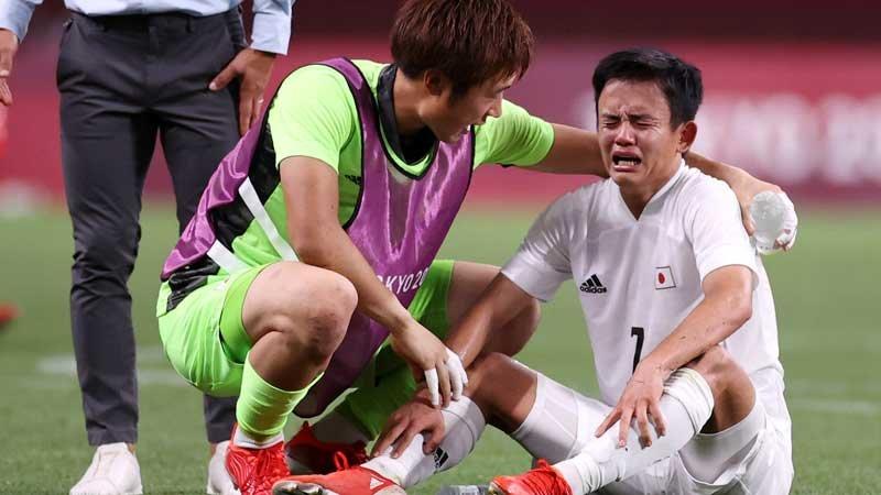東京五輪3位決定戦、メキシコに完敗。久保建英の涙に、痛いところを突かれた