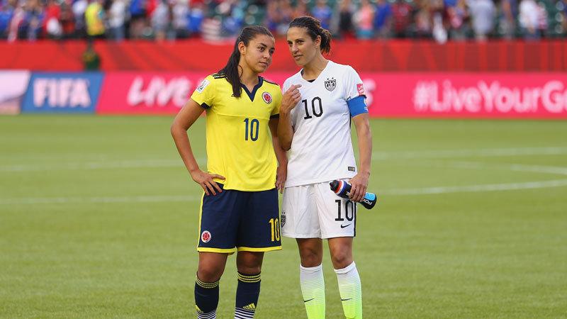 アメリカ vs コロンビア ハイライト