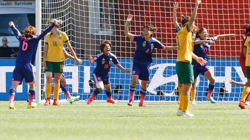 オーストラリア vs 日本 ハイライト